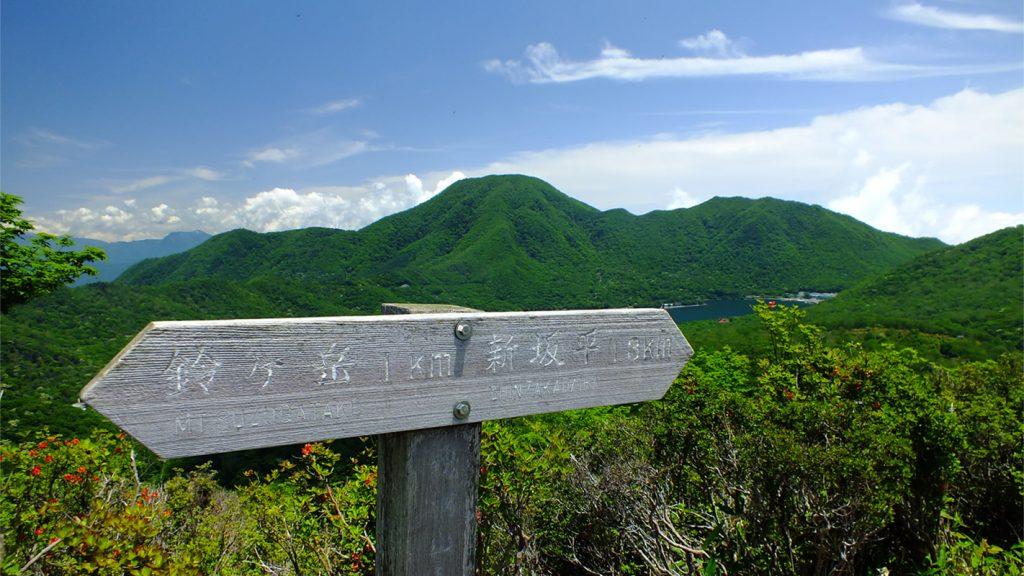 鍬柄山(くわがらやま)の風景