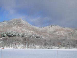 冬山の様子
